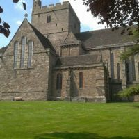 Brecon Cathedral in the sun!