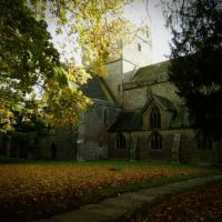 Brecon Cathedral in the Autumn!